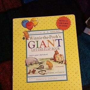 Winnie the Poohs Giant lift the Flap Book